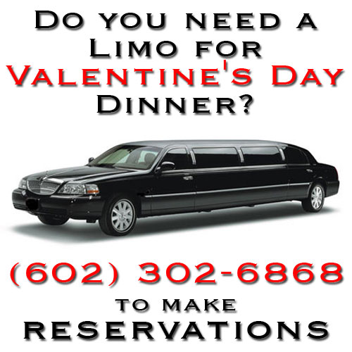 Valentine's Day Limo Service