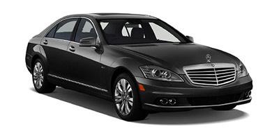 Black Limo Car