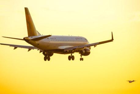 Flight Leaving Phoenix Airport
