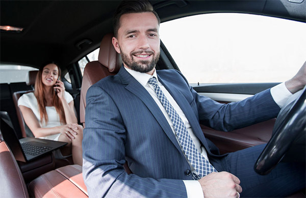 Luxury Car Ride with Chauffer Limo Service